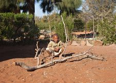 Free Poor African Little Boy Stock Images - 20519344