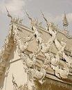 Free Wat Rhong Khun With Thai Stucco Stock Image - 20520951
