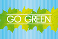 Free Go Green Background Royalty Free Stock Photos - 20521658