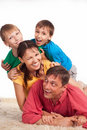 Free Family On Carpet Royalty Free Stock Images - 20522969