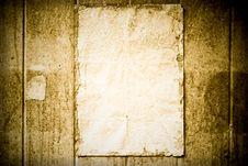 Free Vintage Paper Stock Photos - 20520673