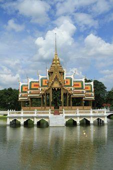 Bang Pa In Palace,Ayuthaya Province,Thailand. Royalty Free Stock Image