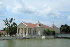 Bang Pa In Palace,Ayuthaya Province,Thailand. Royalty Free Stock Photos