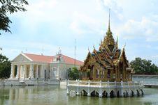 Bang Pa In Palace,Ayuthaya Province,Thailand. Stock Images