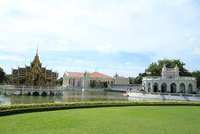 Free Bang Pa In Palace,Ayuthaya Province,Thailand. Royalty Free Stock Photo - 20520905