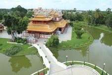 Free Bang Pa In Palace,Ayuthaya Province,Thailand. Royalty Free Stock Image - 20520946