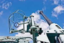 Free Canadian Destroyer Anti Aircraft Gun Royalty Free Stock Image - 20521016