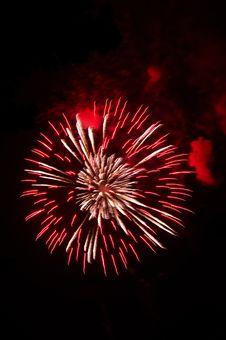 Free Fireworks Burst Stock Photography - 20521272