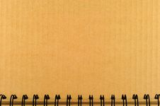 Free Open Blank Cardboard Royalty Free Stock Photo - 20521465