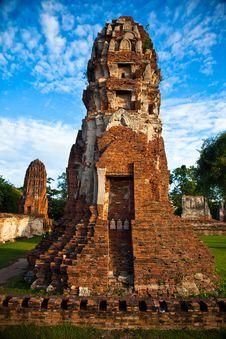 Free Ayutthaya S Pagoda Stock Images - 20521724