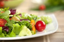Free Vegetable Salad Royalty Free Stock Images - 20521809