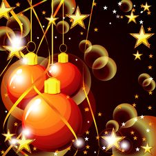 Free Christmas Balls Royalty Free Stock Image - 20522916