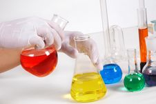 Free In Laboratory Stock Image - 20522921