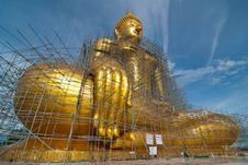 Build The Buddha Royalty Free Stock Images