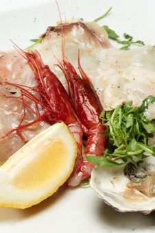 Free Seafood Appetizer Stock Images - 20524814