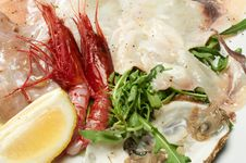 Free Seafood Appetizer Royalty Free Stock Photos - 20524938