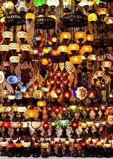 Arabic Lanterns Royalty Free Stock Photo