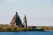 Sacred Place. Beautiful Kizhi Island Stock Photos