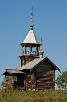 Sacred Place. Beautiful Kizhi Island Royalty Free Stock Images