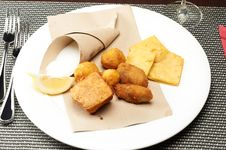 Free Panelle And Croquettes Stock Image - 20526101