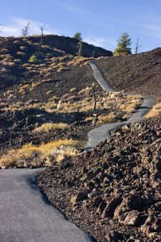 Free Craters Of The Moon Royalty Free Stock Image - 20527116