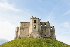 Free Ruined Castle On A Hill Royalty Free Stock Photography - 20527667