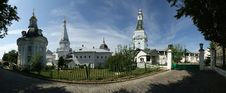 Free Trinity Sergius Lavra In Sergiev Posad. Ppanorama Stock Photos - 20528423