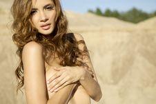 Free Topless Girl Stock Image - 20528681