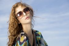 Free Beautiful Girl In Sunglasses Stock Images - 20528684