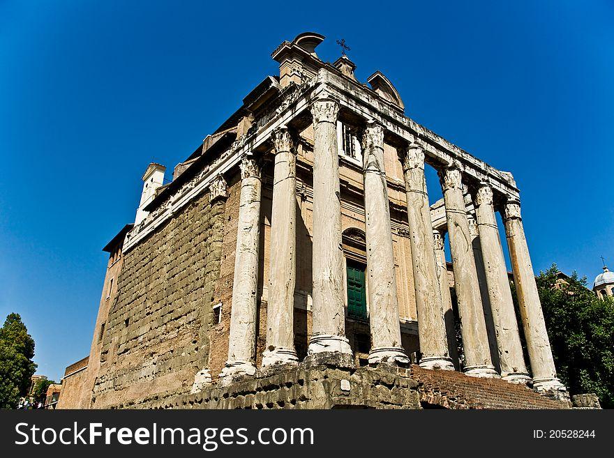 Forum Romanum , Italy.