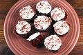Free Red Velvet Cupcakes Stock Photo - 20537290