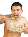 Free Picture Of Man During Eating Stock Photography - 20539042