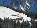 Free Winter In Swiss Alps Stock Image - 20539671