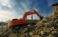Free Excavator Crushing Rocks Stock Photos - 20539733