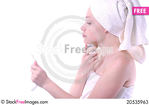 Free Girl After Shower Stock Photos - 20535963