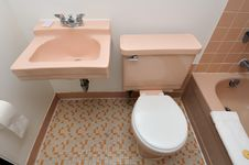 Free Top Down Of Toilet And Basin Stock Photos - 20530303