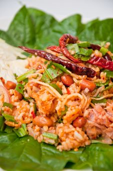 Free Delicious Thai Food Call YUM NAM Stock Image - 20530911