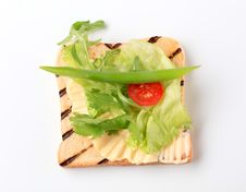 Free Toast And Greens Stock Photos - 20531303