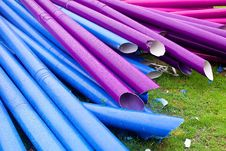Free Colorful Pipes Royalty Free Stock Photography - 20532517