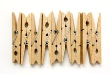 Free Wooden Pegs Royalty Free Stock Images - 20532859