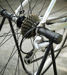 Bike Gear System Royalty Free Stock Photo