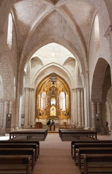 Free Church Of Valbuena In Valladolid Royalty Free Stock Image - 20533456
