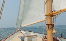 Free Views Of The Private Sail Yacht. Royalty Free Stock Photography - 20533747