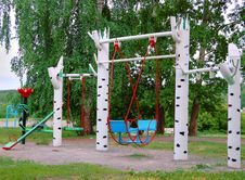 Teeter-totter Royalty Free Stock Image