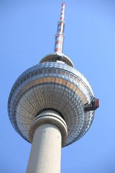 Free Berlin S TV Tower On Alexanderplatz Royalty Free Stock Photography - 20534527
