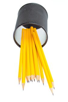 Free Close-up Of  Pencils In Pencil Box Stock Images - 20535104