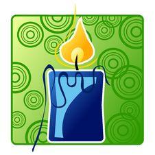 Free Christmas Candle Stock Image - 20535161