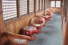 Free Cane Chairs Royalty Free Stock Image - 20536096