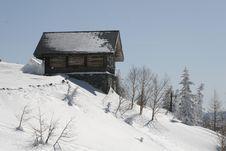 Snow Hut Stock Photography