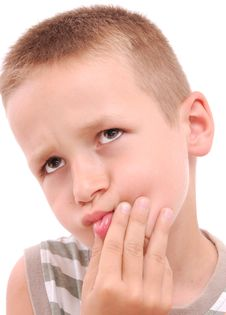 Free Portrait Of A Boy Stock Images - 20536844